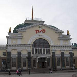 Железнодорожные вокзалы Верхного Авзяна