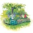 Отель Aldego Village - иконка «сад» в Верхнем Авзяне